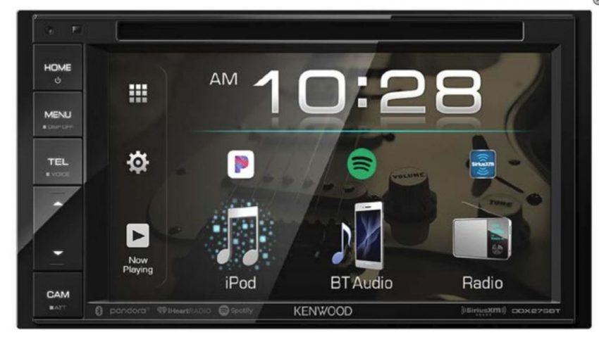 "Kenwood DDX276BT 6.2"" WVGA DVD Receiver"